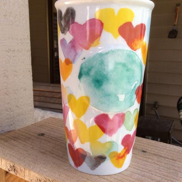 Starbucks HEARTS tumbler. Hearts 💕